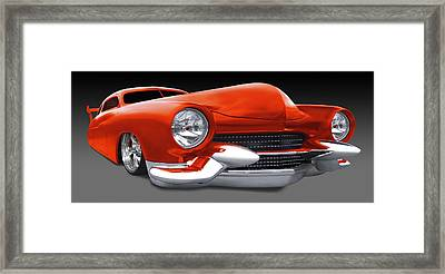 Mercury Low Rider Framed Print by Mike McGlothlen
