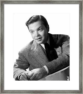 Mercury Theater, The Aka Orson Welles Framed Print