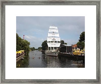 Merdijanas. Klaipeda. Lithuania. Framed Print