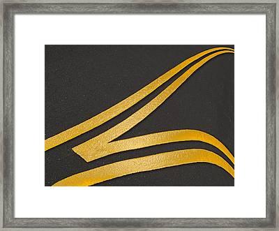 Merge Framed Print by Paul Wear