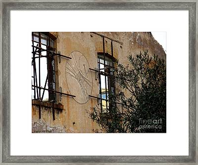 Meridiana Romana Framed Print by Mariana Costa Weldon