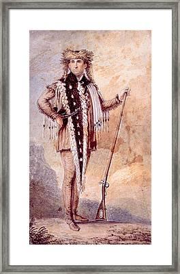 Meriwether Lewis 1774-1809, Co-leader Framed Print by Everett