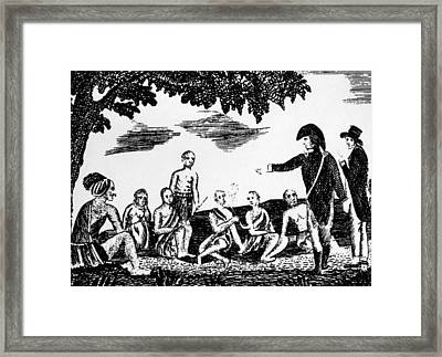Meriwether Lewis And William Clark Framed Print
