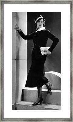 Merle Oberon, Ca. 1934 Framed Print