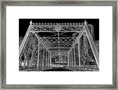 Merriam Street Bridge Framed Print