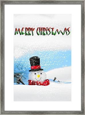 Merry Christmas Framed Print by Billie-Jo Miller