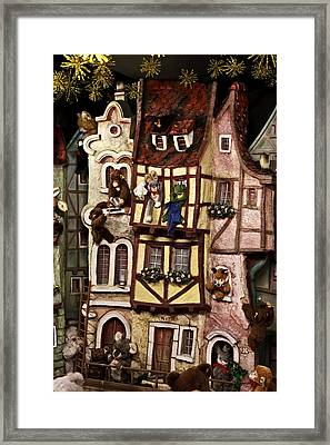 Merry Christmas Framed Print by Cecil Fuselier