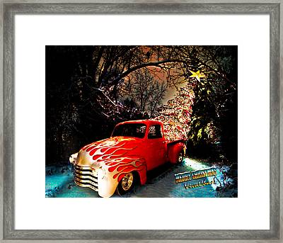 Merry Christmas From Vivachas Framed Print