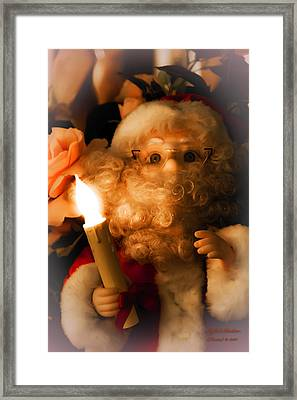 Framed Print featuring the photograph Merry Christmas by Itzhak Richter