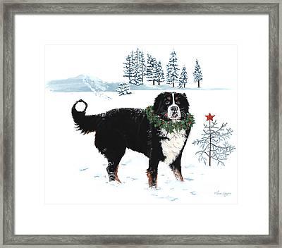 Merry Christmas Framed Print by Liane Weyers