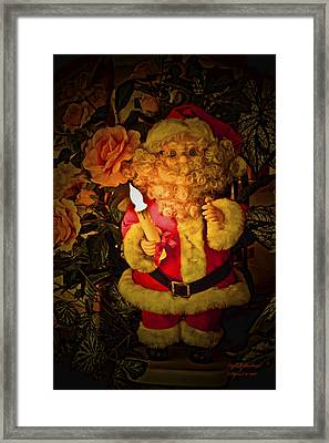 Merry Christmas To You Framed Print by Itzhak Richter