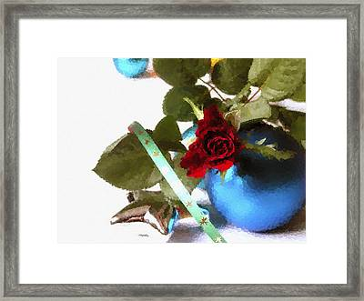 Merry Christmas Framed Print by Design Windmill