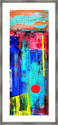 Framed Print featuring the painting Mesa by Carolyn Repka