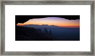 Mesa Dawn Framed Print by Andrew Soundarajan