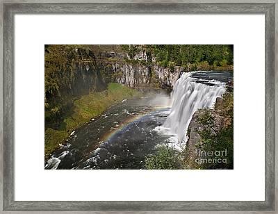 Mesa Falls II Framed Print by Robert Bales