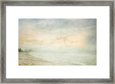 Framed Print featuring the photograph Message From The Other Side by Karen Lynch