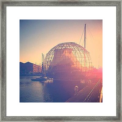 Message In A Bubble #travel #italy #ig Framed Print