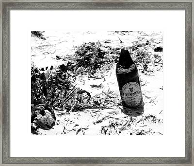 Message In The Bottle Framed Print by Jim McDonald Photography