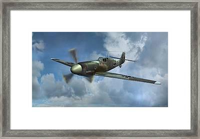 Messerschmitt Bf-109 Framed Print