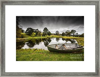 Messing About In A Boat Framed Print by Avalon Fine Art Photography