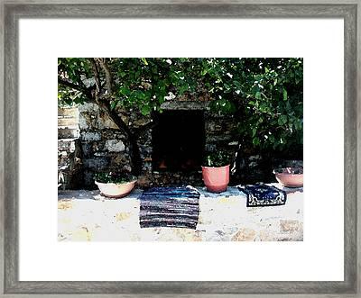 Mesta-7 Framed Print by Rezzan Erguvan-Onal