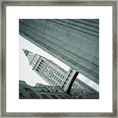 Met Life Tower (1909) - Ny Framed Print