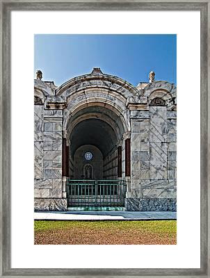 Metairie Cemetery 3 Framed Print by Steve Harrington