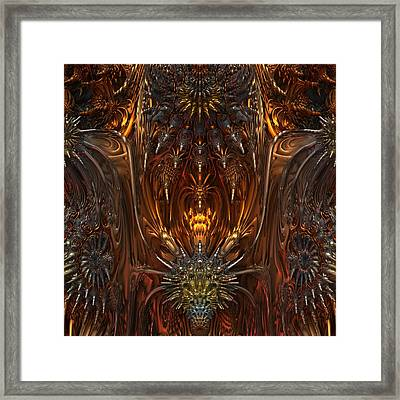 Metal Dragons Framed Print by Lyle Hatch