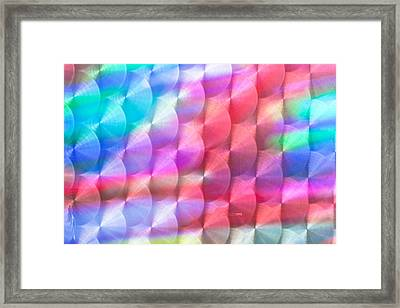 Metal Pattern Framed Print by Tom Gowanlock