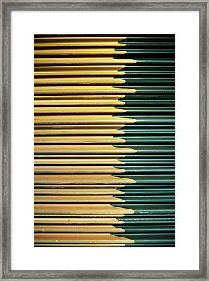 Metal Sheet Framed Print by Yoshinori Kuwahara