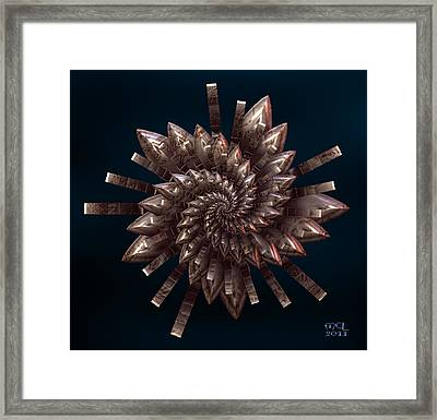 Metal Storm Framed Print by Manny Lorenzo