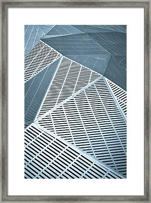Metallic Frames Framed Print