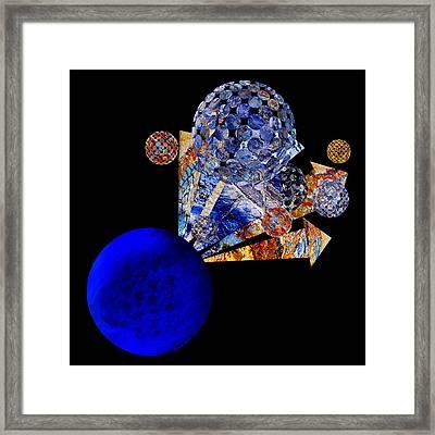 Meteor Rising Framed Print