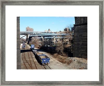Metro North Framed Print by Steve Breslow