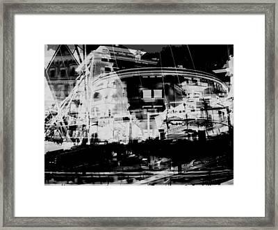 Metropolis Nacht Framed Print