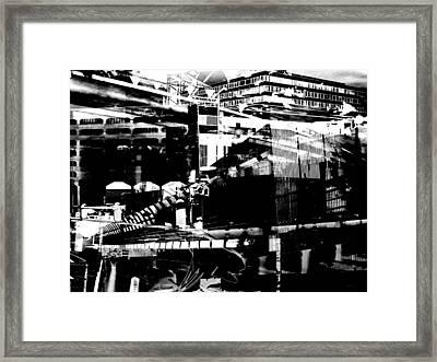Metropolis Zurich 1 Framed Print