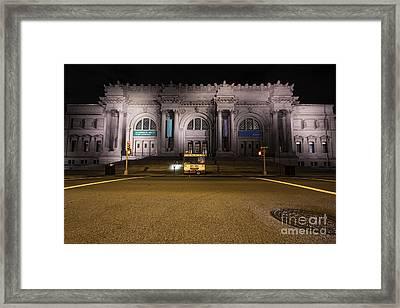 Metropolitan Framed Print