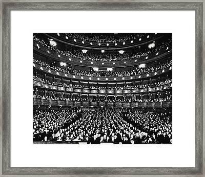 Metropolitan Opera House Framed Print
