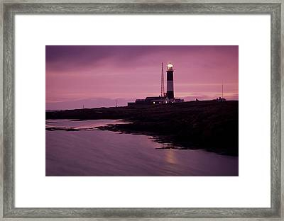 Mew Island, Belfast Lough, County Framed Print by Richard Cummins