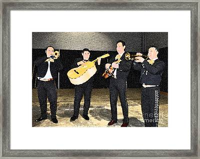 Mex Band Framed Print by Brent Easley