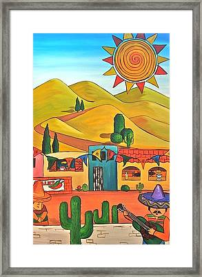 Mexican 2 Framed Print