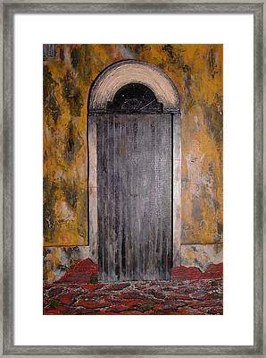 Mexican Arch Framed Print