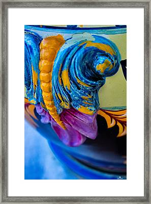 Mexican Ceramic Framed Print by Russ Harris