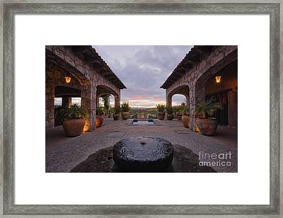 Mexican Ranch House Framed Print