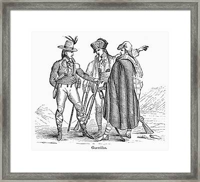 Mexican War: Guerrillas Framed Print by Granger