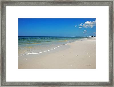 Mexico Beach Framed Print