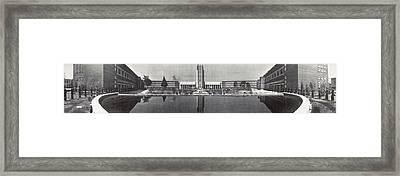 Mexico City, Escuela Normal, An Framed Print by Everett