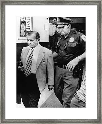 Meyer Lansky Leaves The Rear Framed Print