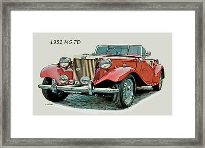 Mg Td Framed Print by Larry Linton