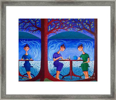Mga Kaluluwa At Kaldero Framed Print by Paul Hilario